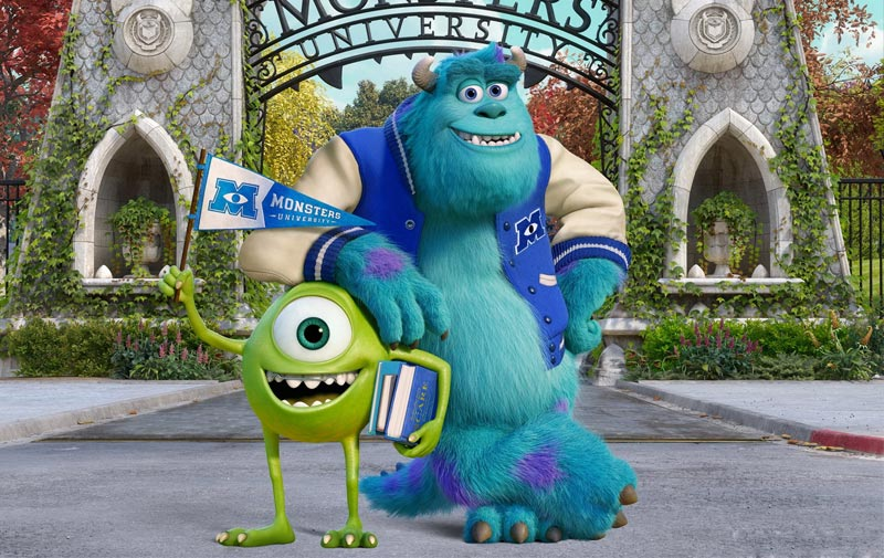Review monsters university with the voices of john goodman and review monsters university with the voices of john goodman and billy crystal voltagebd Images