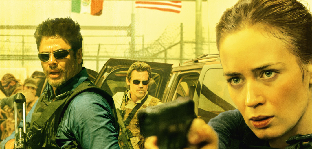 "Image from the movie ""Sicario"""