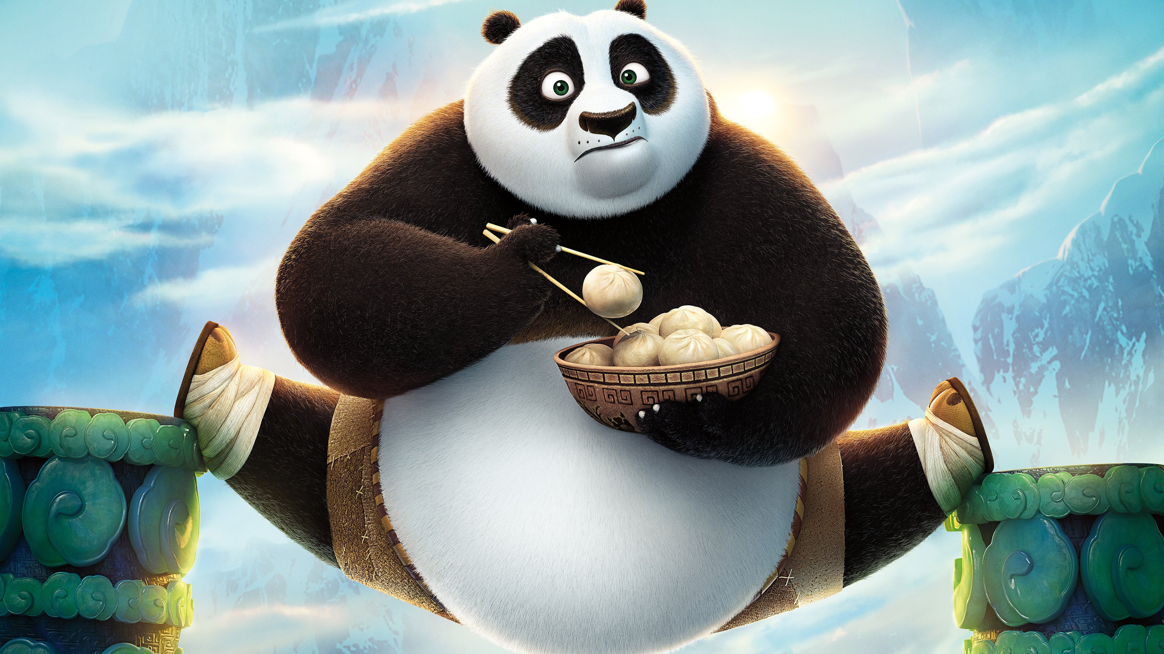 review: 'kung fu panda 3', with the voices of jack black, dustin