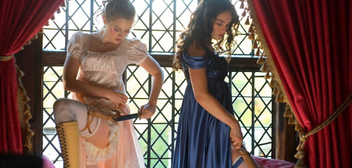 "Image from the movie ""Pride and Prejudice and Zombies"""