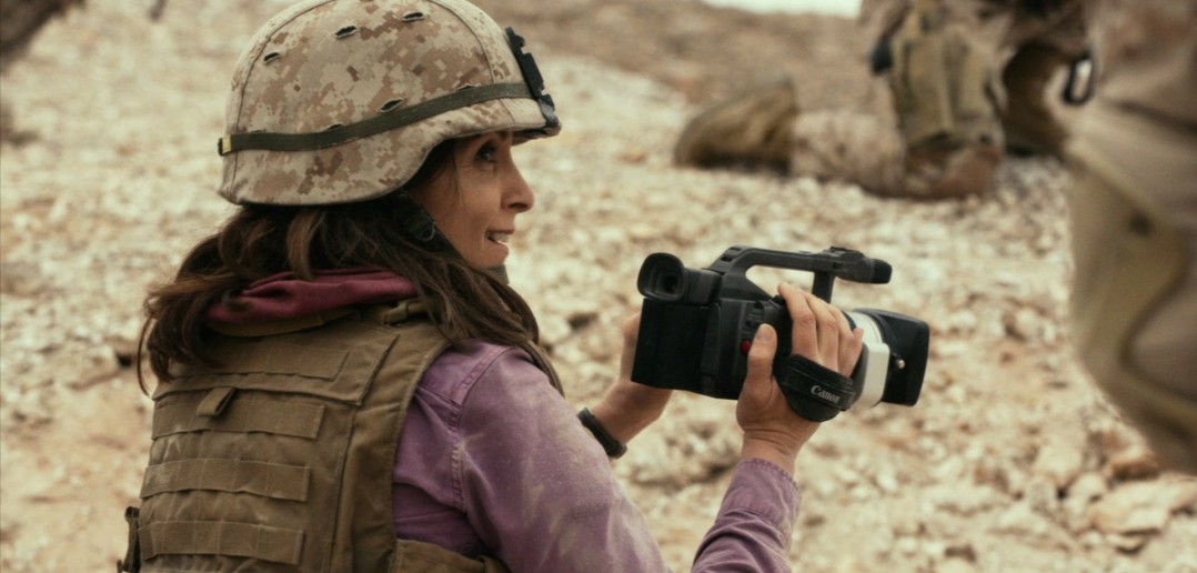 """Image from the movie """"Whiskey Tango Foxtrot"""""""