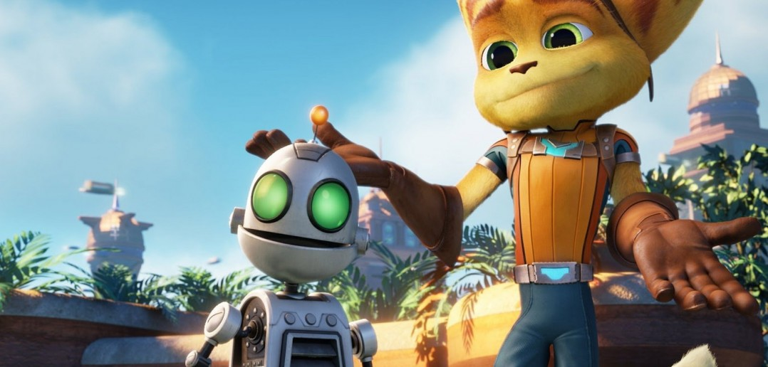 """Image from the movie """"Ratchet & Clank"""""""