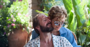 """Image from the movie """"A Bigger Splash"""""""
