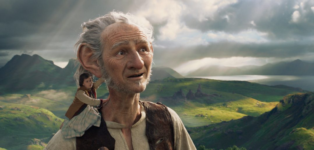 """Image from the movie """"The BFG"""""""